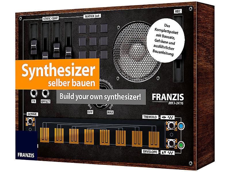 franzis elektro baus tze synthesizer selber bauen build. Black Bedroom Furniture Sets. Home Design Ideas