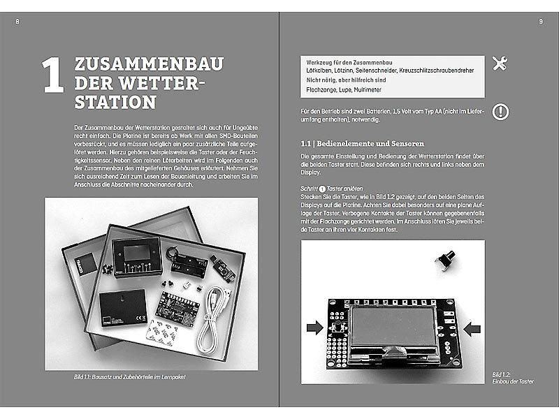FRANZIS Experimentier-Systeme: Maker-Kit Wetterstation zum ...