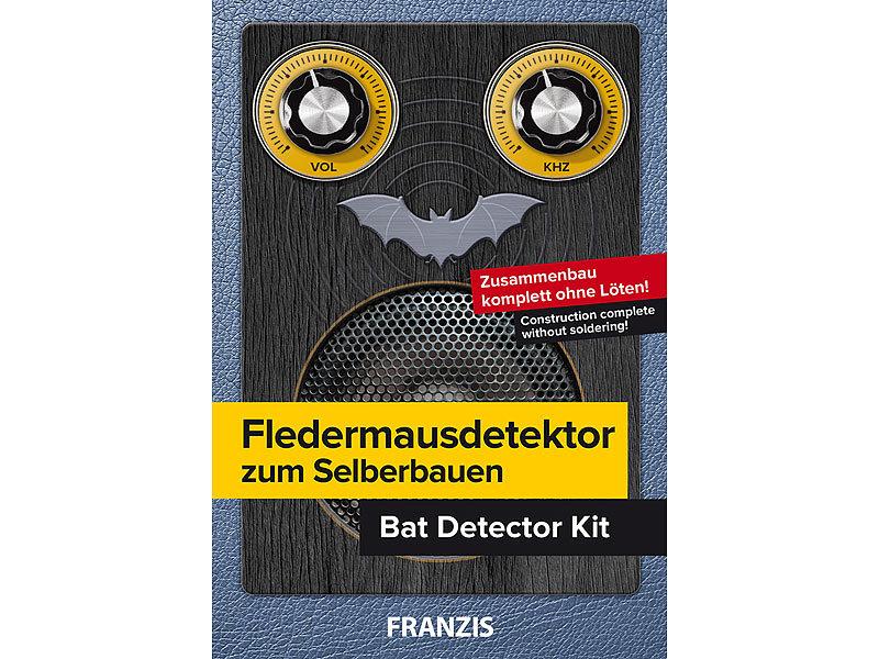 Ultraschall Entfernungsmesser Kinder : Franzis elektrobaukasten kinder fledermausdetektor zum