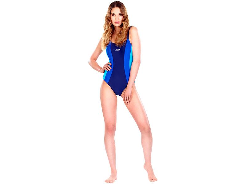 Kaufen Sie Authentic suche nach original outlet Speeron Badeanzug Damen: Sportlicher Badeanzug, blau-türkis ...