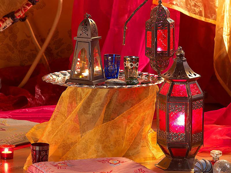 Arabische Einrichtung Sitzhocker Tisch aus Massivholz