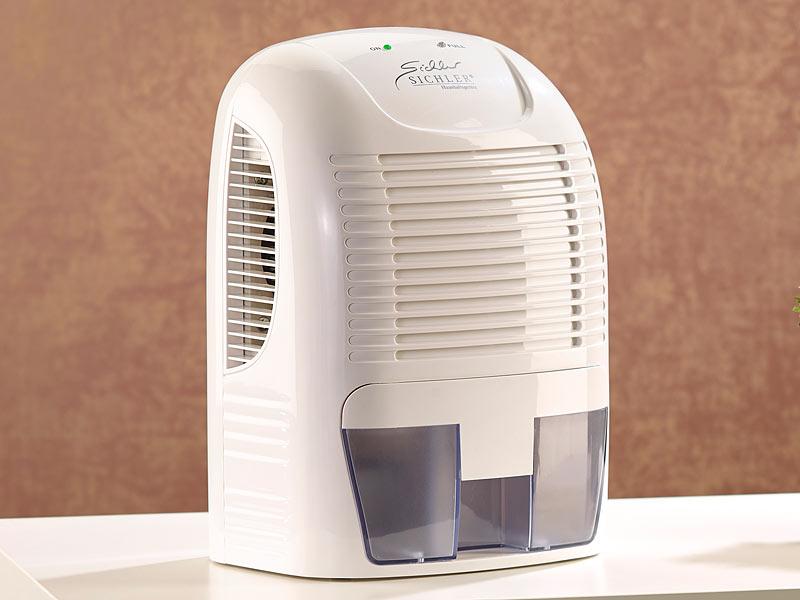 sichler haushaltsger te effektiver luftentfeuchter max 500 ml protag f r r ume bis 20 m. Black Bedroom Furniture Sets. Home Design Ideas