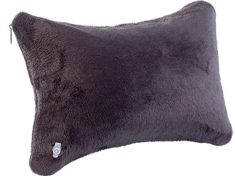 newgen medicals aufblasbares nackenkissen nackenh rnchen mit ultrasoft bezug im set. Black Bedroom Furniture Sets. Home Design Ideas