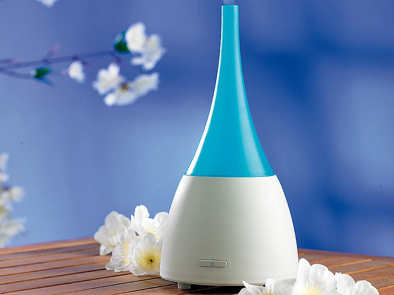 newgen medicals luftreiniger mit duft 4in1 ionen luftreiniger mit ultraschall aroma diffusor. Black Bedroom Furniture Sets. Home Design Ideas