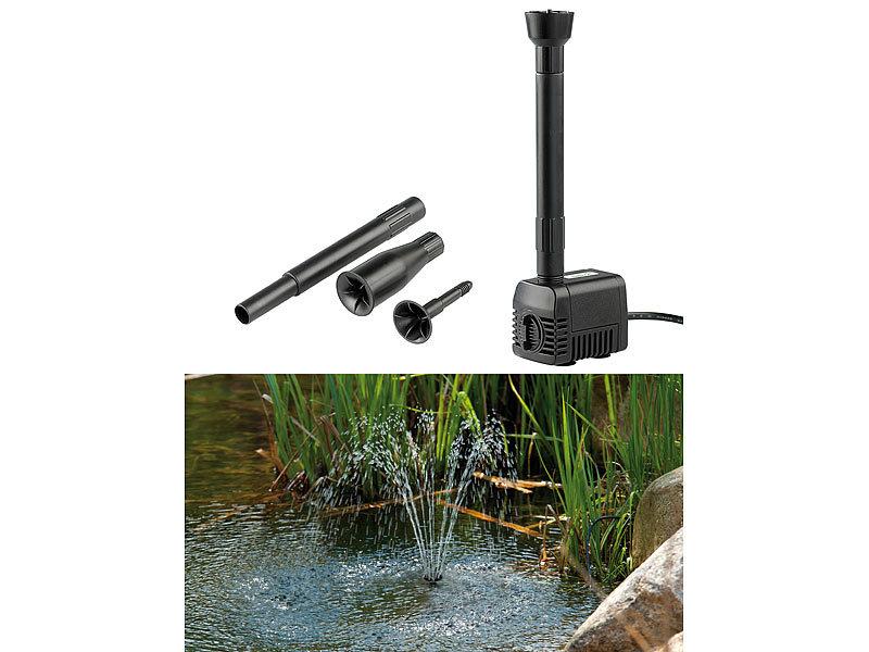 Mini Solar Power Garten Wasserbrunnen Schwimmende Tauchpumpe Wasserspiel