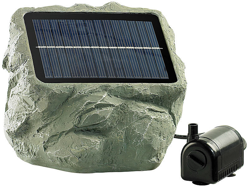 solarpumpe garten solar teichpumpen teichpumpe f r springbrunnen bei pearl. Black Bedroom Furniture Sets. Home Design Ideas