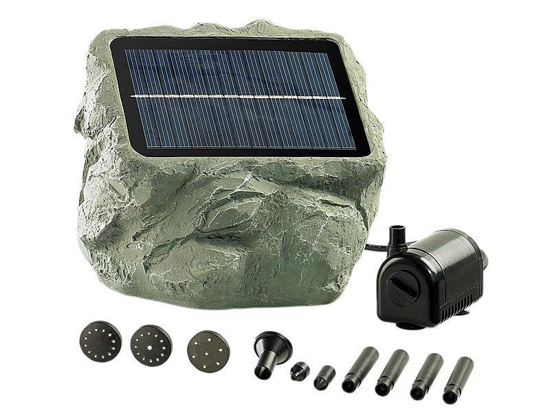 royal gardineer solarpumpe solarbetriebene teichpumpe. Black Bedroom Furniture Sets. Home Design Ideas