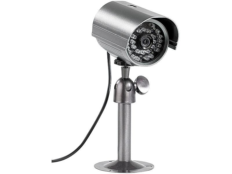 visortech nachtsicht berwachungskamera mit endlos aufzeichnung auf sd. Black Bedroom Furniture Sets. Home Design Ideas