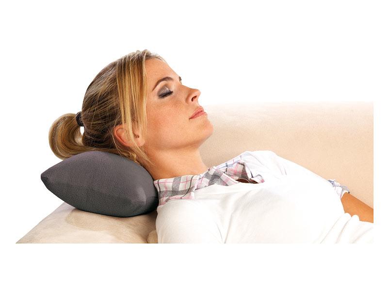 pearl aufblasbare kissen aufblasbares nackenh rnchen und nackenkissen mit fleece bezug. Black Bedroom Furniture Sets. Home Design Ideas