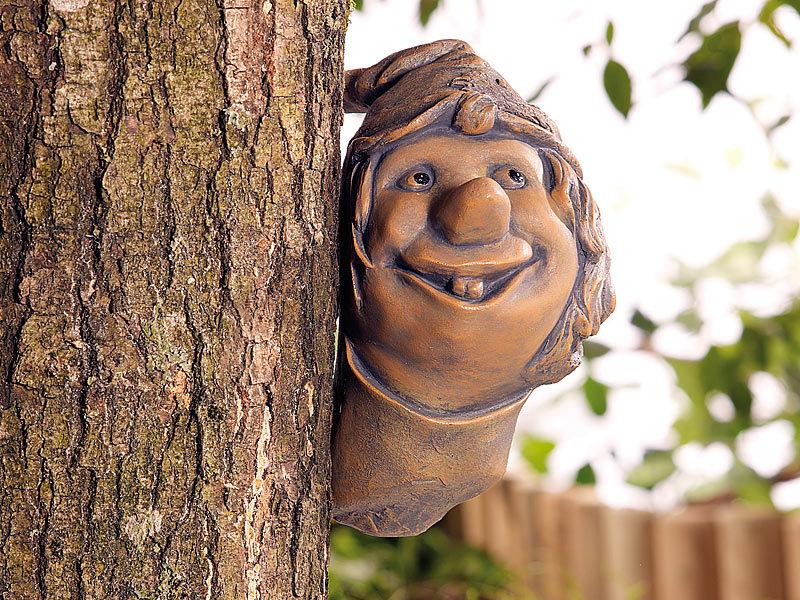 Royal gardineer gartendeko baum troll for Witzige gartendeko