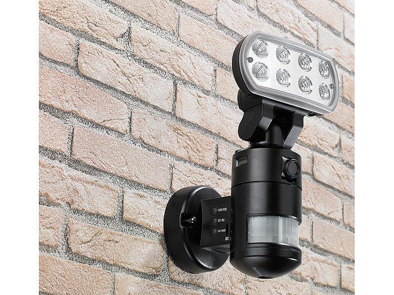 visortech berwachungskamera flk 20 led flutlicht. Black Bedroom Furniture Sets. Home Design Ideas