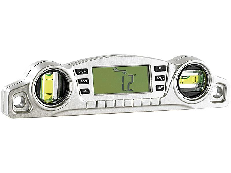Entfernungsmesser Mit Neigungsmesser : Agt neigungsmesser: digitale 2in1 wasserwaage mit vielen profi