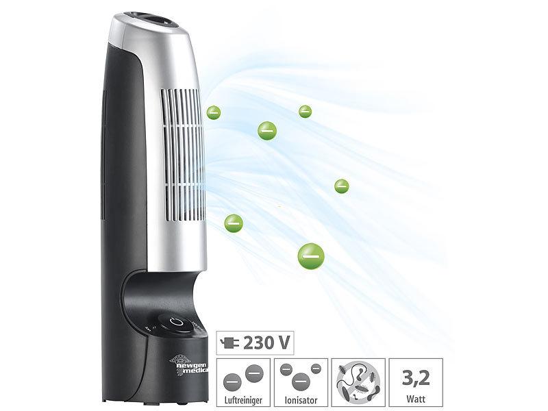 Kühlschrank Ionisator : Newgen medicals luftionisator luftreiniger mit ionisator für