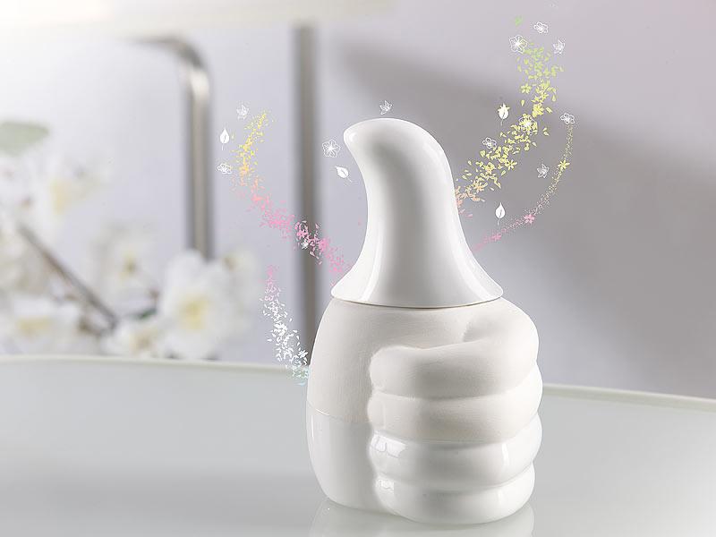 infactory raumduftspender origineller keramik duftspender in micropor ser topqualit t raumspray. Black Bedroom Furniture Sets. Home Design Ideas