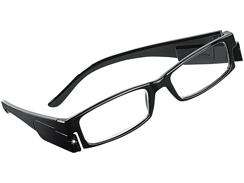 pearl brille mit leselampe modische lesehilfe 0 dpt mit. Black Bedroom Furniture Sets. Home Design Ideas