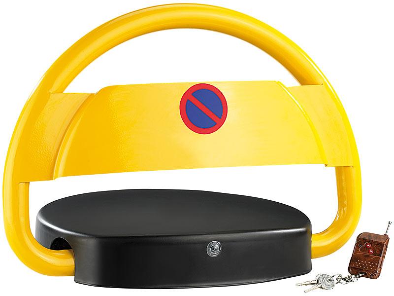 lescars parkplatzw chter automatische parkplatzsperre mit akku fernbedienung elektrische. Black Bedroom Furniture Sets. Home Design Ideas