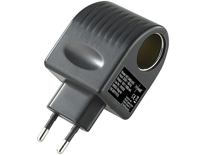 Mini Kühlschrank Watt : Revolt 12v adapter: mini spannungswandler 230 12 v 1.000 ma 12
