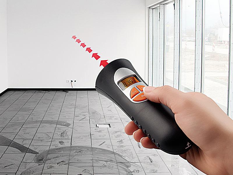 Laser Entfernungsmesser Ultraschall : Agt digitaler zollstock ultraschall distanzmesser mit rechner