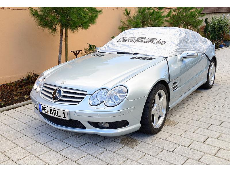 PEARL Premium Auto-Halbgarage für Mittelklasse, 330 x 148 ...