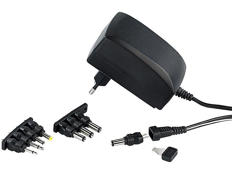 revolt 230v universal schaltnetzteil ma umschaltbar 3 12 v. Black Bedroom Furniture Sets. Home Design Ideas