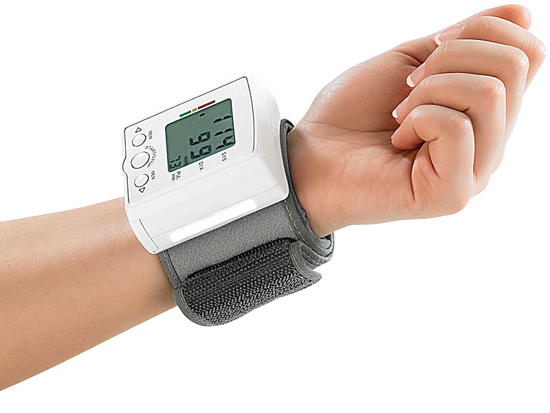 newgen medicals Handgelenk Blutdruckmessgerät mit LCD Display