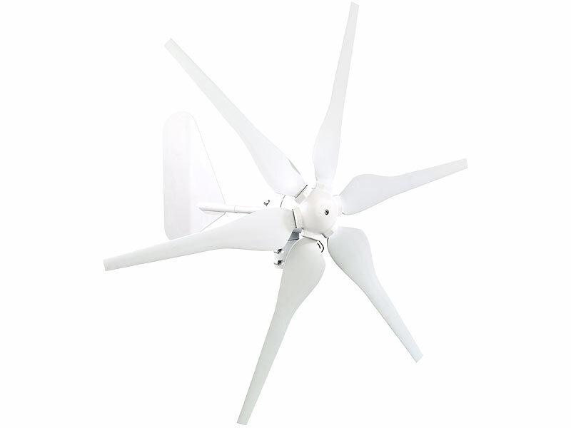 Windgenerator für 12-Volt-Systeme, 300 Watt