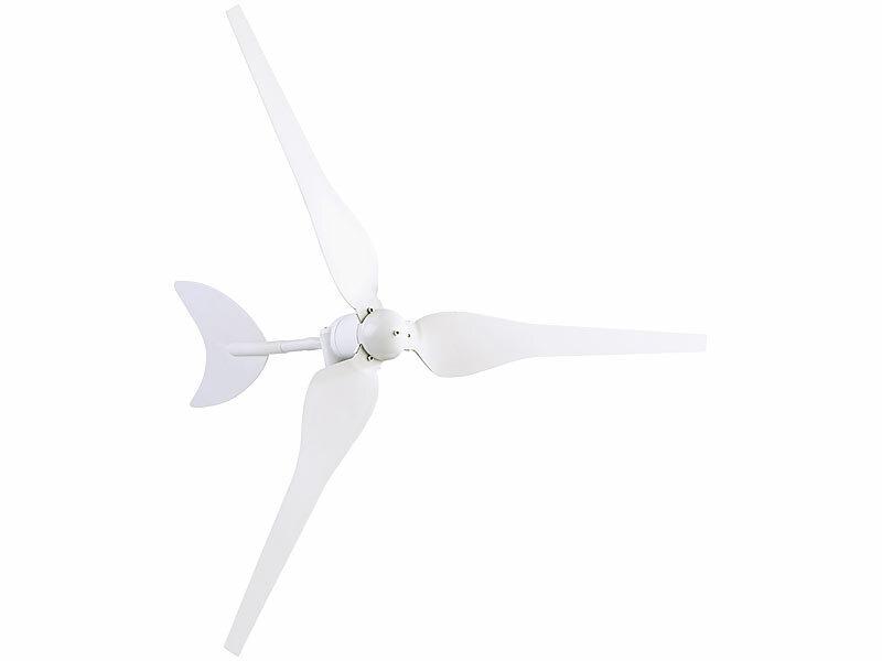 Windgenerator für 12-Volt-Systeme, 50 Watt