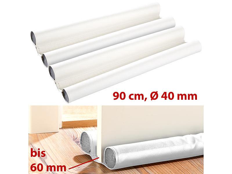 infactory kunstleder zugluft stopper f r t ren bis 60 mm. Black Bedroom Furniture Sets. Home Design Ideas