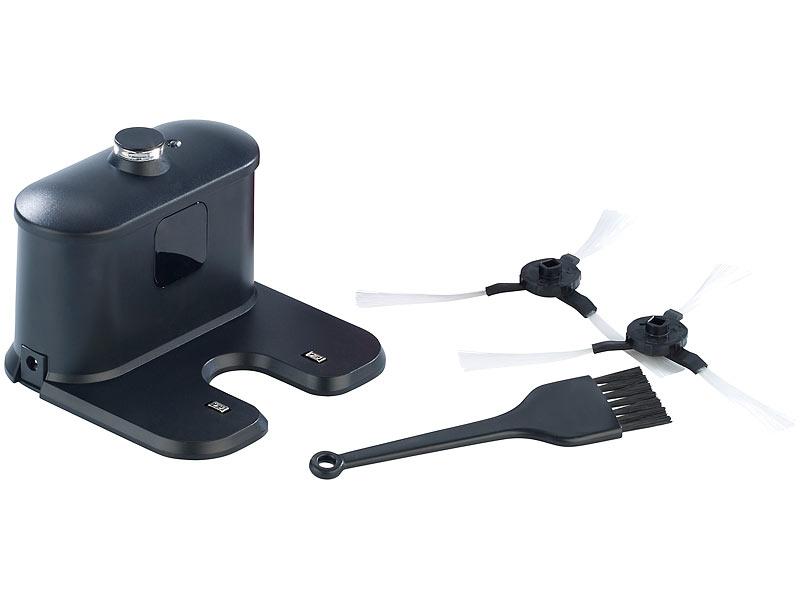 sichler haushaltsgeräte staubsaugerroboter pcr3550uv mit  ~ Staubsauger Filter Reinigen