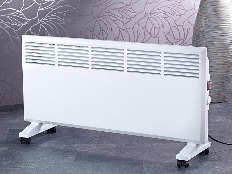 sichler haushaltsger te mobiler konvektor heizk rper mit rollen 1900 w. Black Bedroom Furniture Sets. Home Design Ideas
