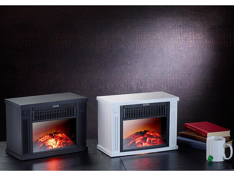 carlo milano mini elektrokamin watt schwarz. Black Bedroom Furniture Sets. Home Design Ideas