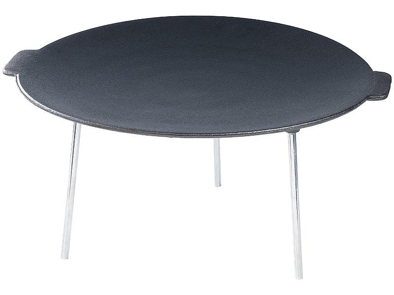 rosenstein s hne feuer grillschale grillschale aus emailliertem gusseisen 45 cm. Black Bedroom Furniture Sets. Home Design Ideas