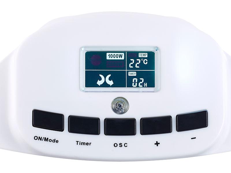 sichler elektroheizung heizl fter lv 245 ventilator oszillation thermostat fernb. Black Bedroom Furniture Sets. Home Design Ideas