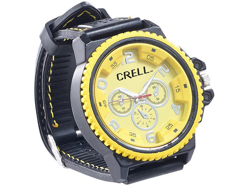 Look Look SilikonIm Armbanduhr Crell Chronographen Chronographen Crell Armbanduhr Crell SilikonIm 3q4j5RLA
