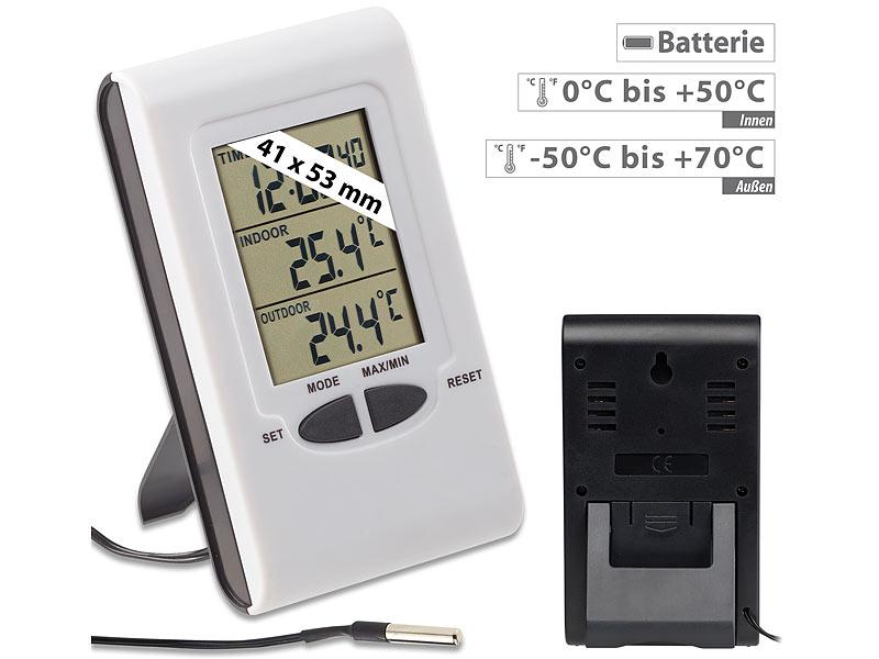 Außen Thermometer Praktisches Temperaturregler Innen-