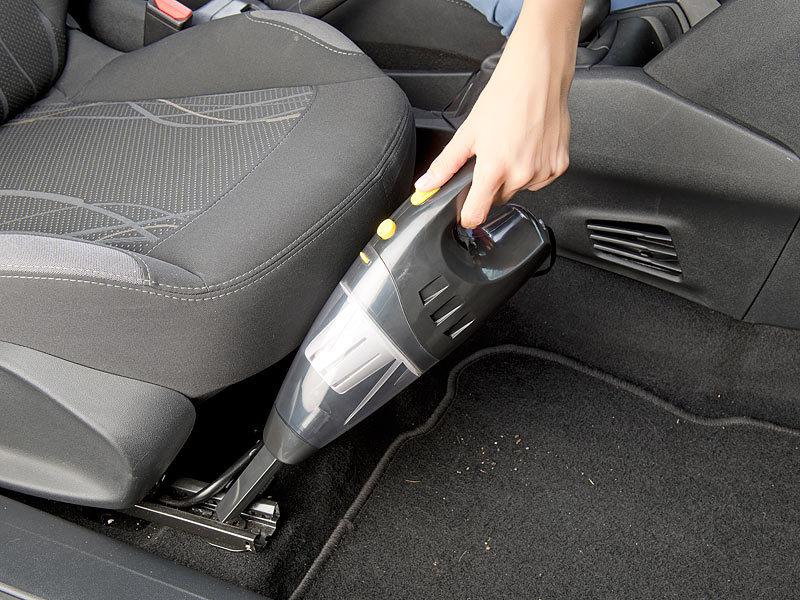 Lescars Beutelloser Nass & TrockenAutoStaubsauger für  # Staubsauger Für Auto