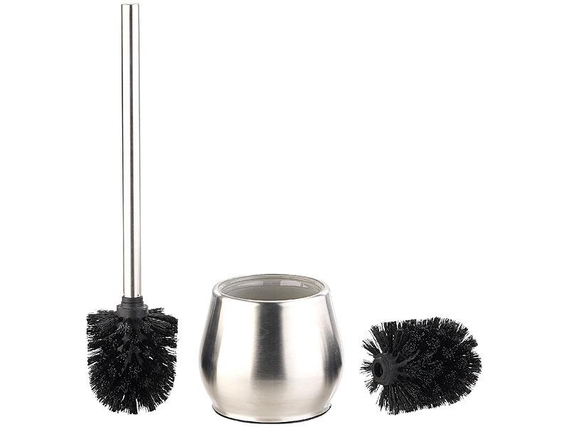 badestern toilettenb rsten edelstahl wc garnitur zum. Black Bedroom Furniture Sets. Home Design Ideas
