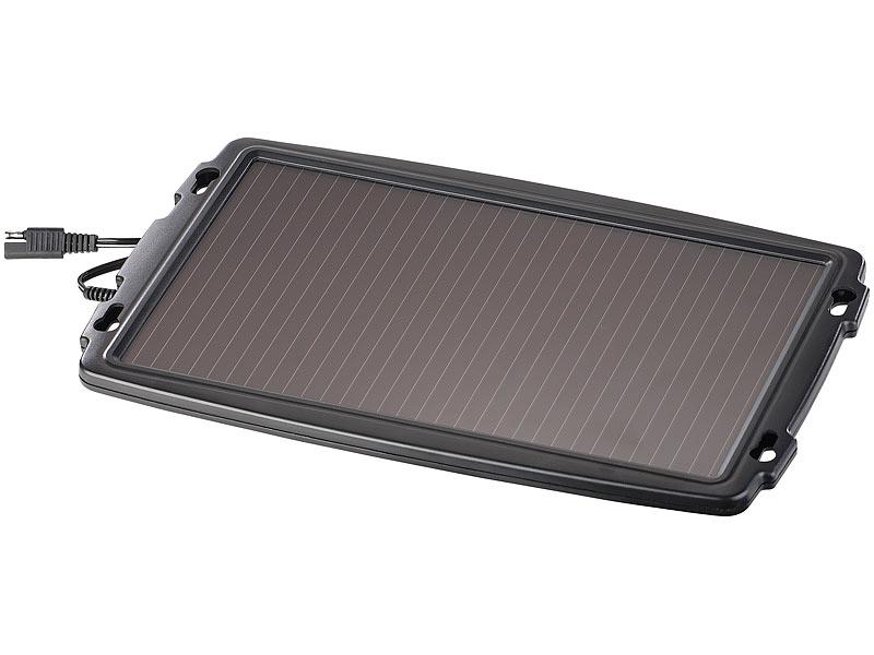 revolt solarlader solar ladeger t f r auto batterien 12. Black Bedroom Furniture Sets. Home Design Ideas