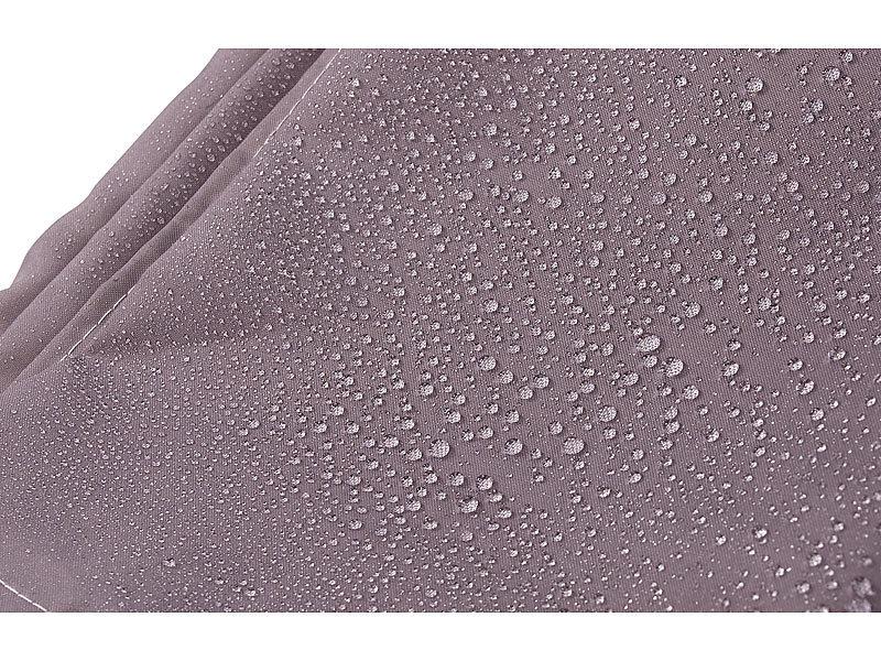 badestern dusch vorh nge anti schimmel duschvorhang grau 180 x 200 cm 12 befestigungsringe. Black Bedroom Furniture Sets. Home Design Ideas