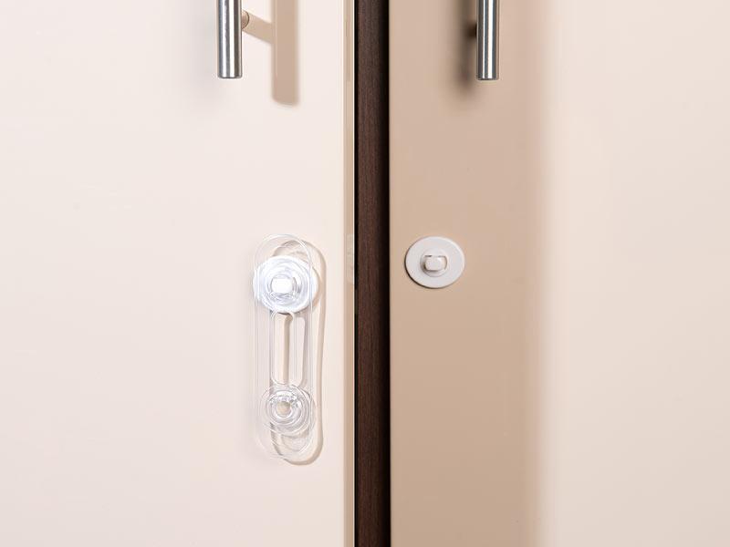 Kindersicherung Baby Schranksicherung Kantenschutz Eckschutz Türstopper
