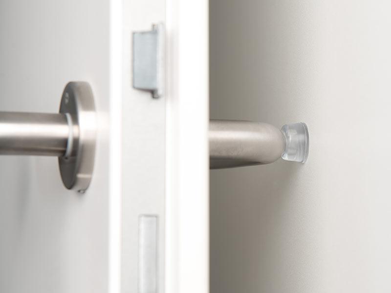 AGT Gummipuffer: 12er-Set elastische Anschlagpuffer für Möbel und ...