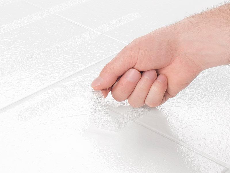 badestern antirutschstreifen 6er set selbstklebende anti rutsch streifen f r badewanne und. Black Bedroom Furniture Sets. Home Design Ideas