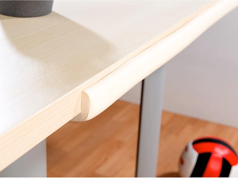 infactory tischkantenschutz universal schaumstoff. Black Bedroom Furniture Sets. Home Design Ideas