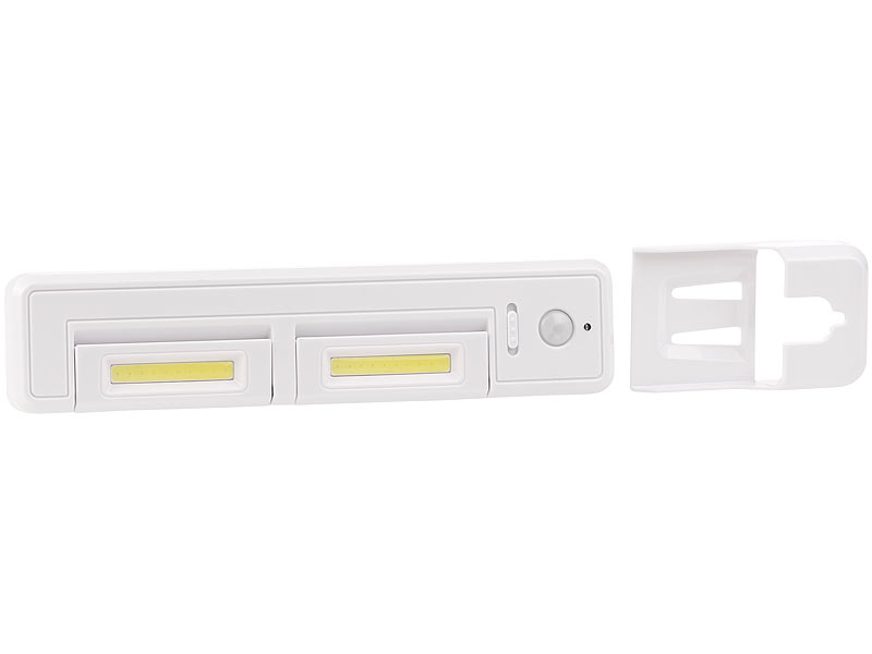 lunartec k chenlampe schrank unterbau leuchte mit 2 cob leds 2 watt 80 lumen pir sensor. Black Bedroom Furniture Sets. Home Design Ideas
