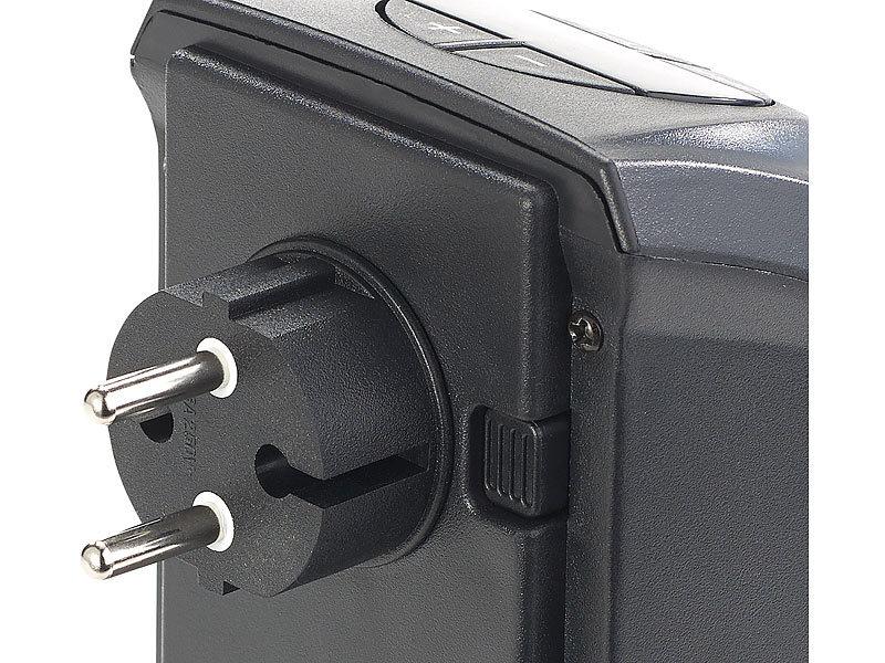 sichler haushaltsger te mini steckdosen heizl fter mit 2 l fter stufen thermostat timer. Black Bedroom Furniture Sets. Home Design Ideas