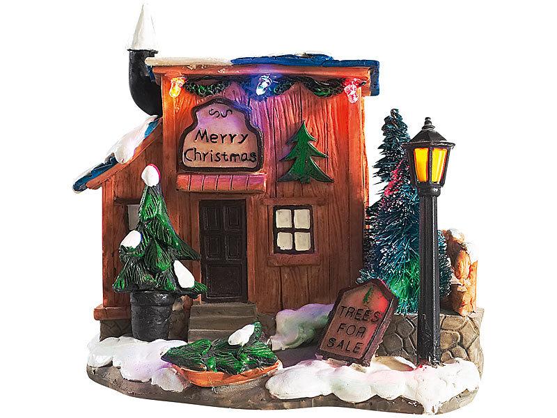 Infactory deko winterlandschaft weihnachtsb ume zu verkaufen - Winterlandschaft dekoration ...