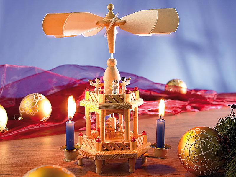 infactory handgearbeitete weihnachts pyramide aus holz. Black Bedroom Furniture Sets. Home Design Ideas