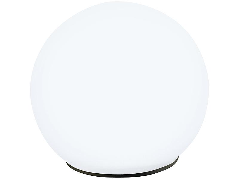 lunartec leuchtkugeln garten solar glas leuchtkugel mit tageslichtwei en leds. Black Bedroom Furniture Sets. Home Design Ideas