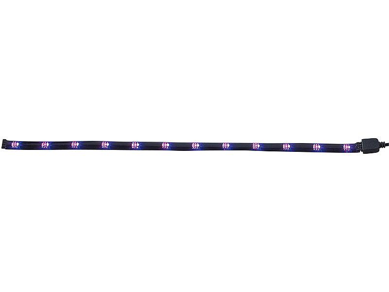 lunartec led stripes smd led streifen rgb per infrarot steuerbar led band. Black Bedroom Furniture Sets. Home Design Ideas
