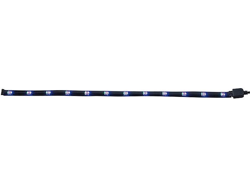 lunartec led band smd led streifen rgb per infrarot steuerbar lichtschlauch. Black Bedroom Furniture Sets. Home Design Ideas